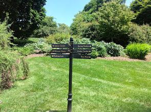 Photo: garden signs