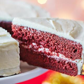 Gingerbread Red Velvet Cake