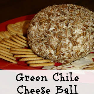 Green Chile Cheese Ball.