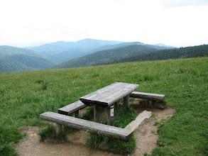 Photo: 23.Na Polanie Jaworzyna Kamienicka jest też stół.