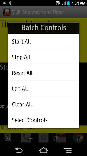 Multi Stopwatch and Timer Pro screenshot 5
