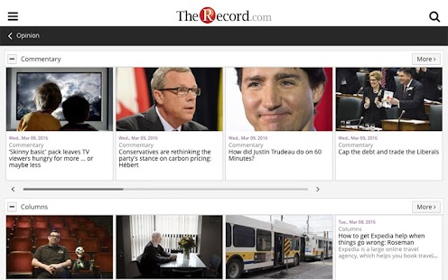 The Waterloo Region Record- screenshot thumbnail
