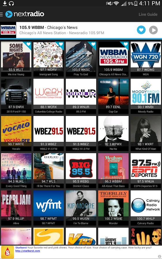 NextRadio - Free FM Radio - Android Apps on Google Play
