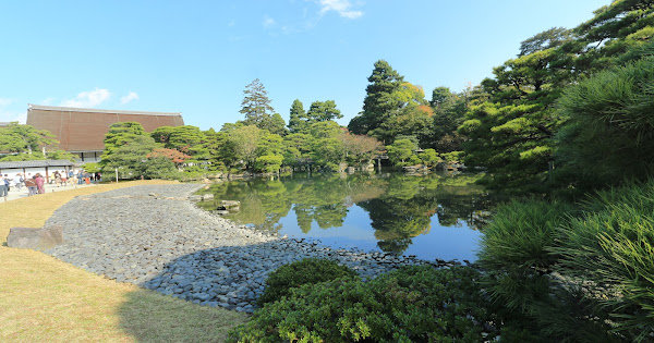 106. The garden of Kyoto Imperial Palace