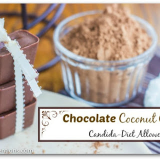 Chocolate Coconut Cubes (Candida Diet Allowed).