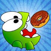 Cut the Donut:Feed Hungry Frog