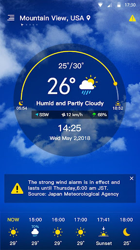 Weather Forecast 1.0.5.1 screenshots 1