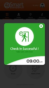 Smart Attendance System- screenshot thumbnail