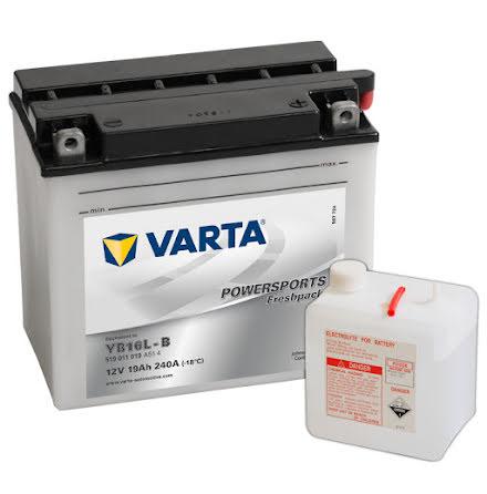 MC-batteri 19Ah Varta YB16L-B 12N16-3B 519011019