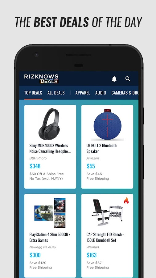 RIZKNOWS Deals- screenshot