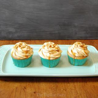 Dulce de Leche Cappuccino Cupcakes