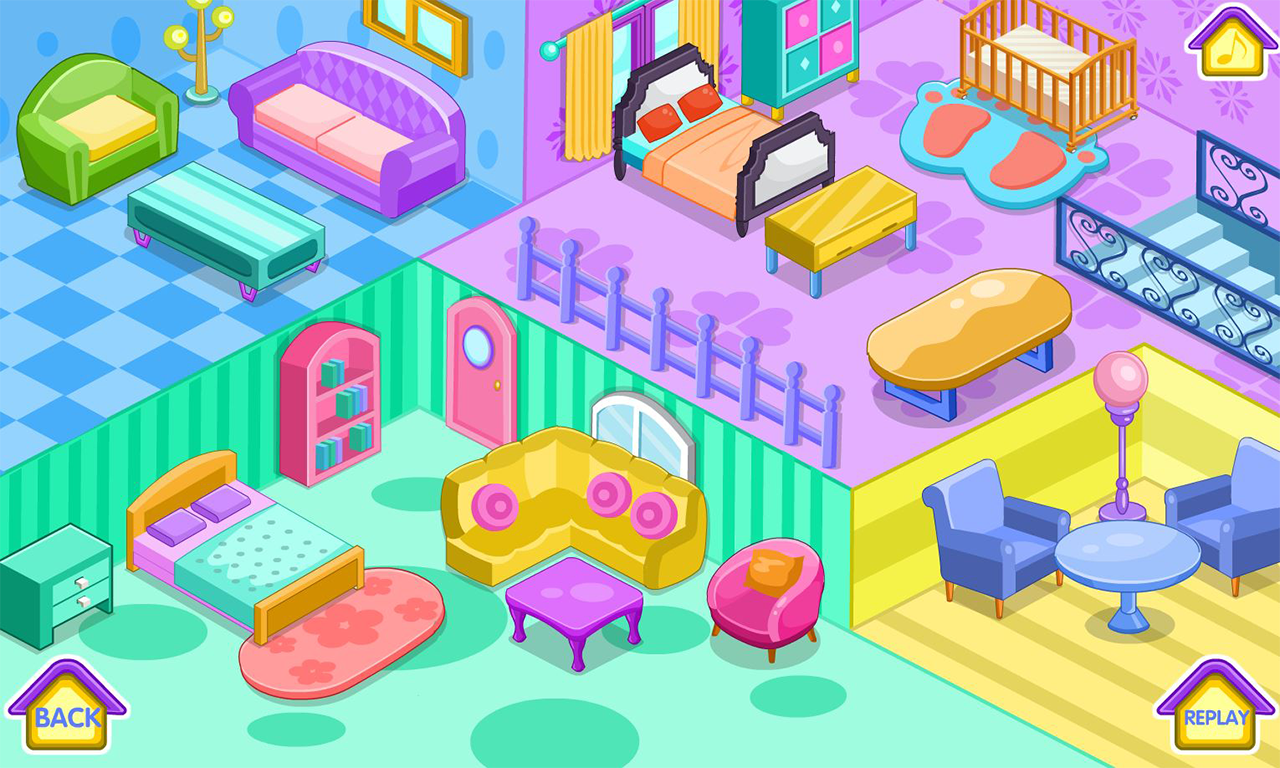 new home decoration game screenshot - Home Decor Games