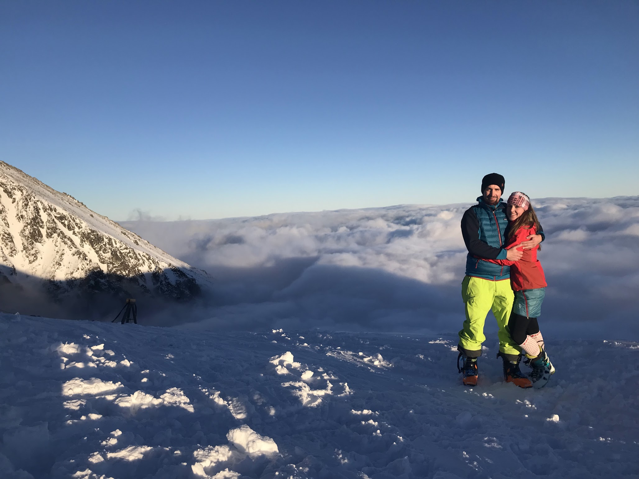 Lomnicke sedlo skitour (Slovakia) - Dec 18