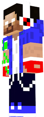esta é uma skin do youtuber Player https://www.youtube.com/channel/UC3cLVARQ41N1HfzRjlZARrA?view_as=subscriber