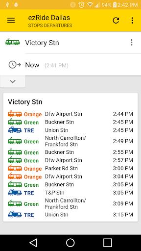 ezRide Dallas (DART Transit)  screenshots 2