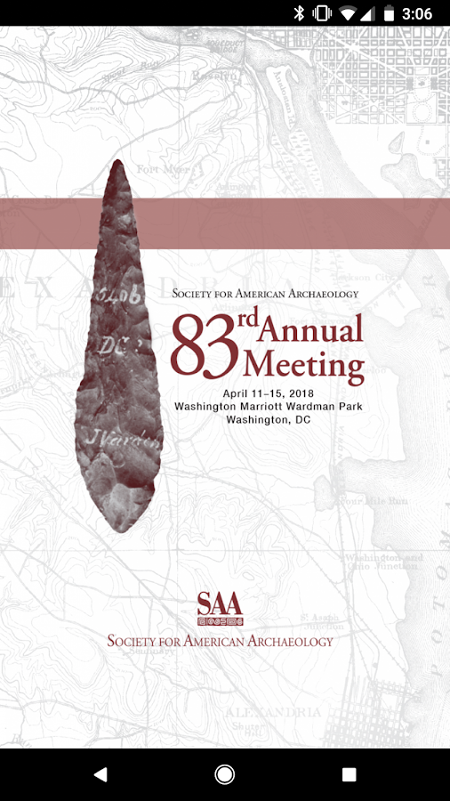 SAA 83rd Annual Meeting- screenshot