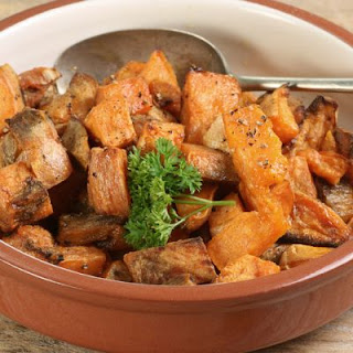Pepper Roasted Sweet Potatoes