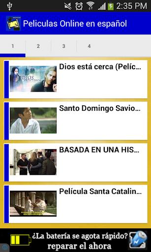 Peliculas Online en español