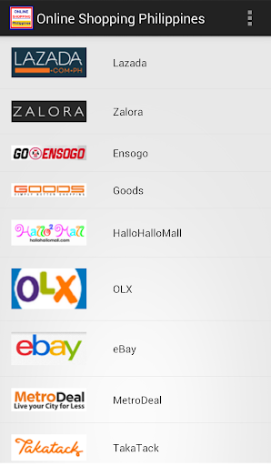He philippines company online shopping