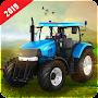 Real Tractor Farmer Sim Drive - Farming Games 2019