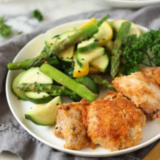 Healthy Breaded Chicken | Dinner Idea.