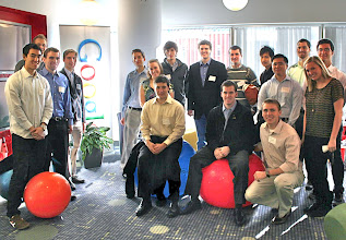 Photo: BC at Google Cambridge - Nov. 2010