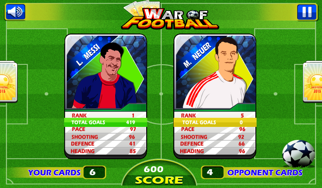 War of Football- screenshot