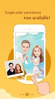 Screenshot of MomentCam Cartoons & Stickers