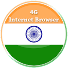 4G Internet Browser - High Speed Browser 4G icon