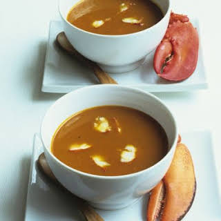 Creamy Lobster Bisque.