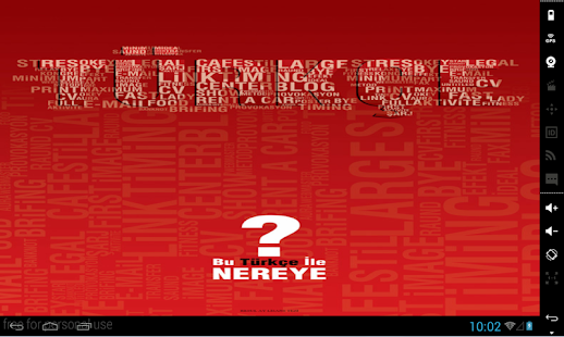 Turkish Verbs screenshot