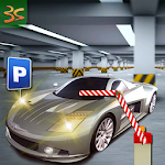 Multi story car parking game Icon