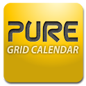 Pure Grid calendar widget icon