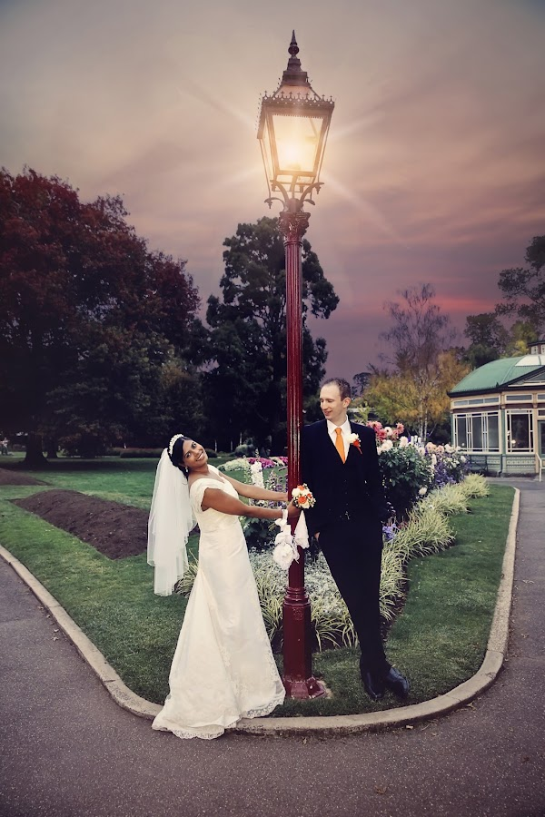 Light of My Life by Alan Evans - Wedding Bride & Groom ( alan, aj photography )
