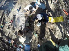 Photo: preparación del almuerzo vista por un drone