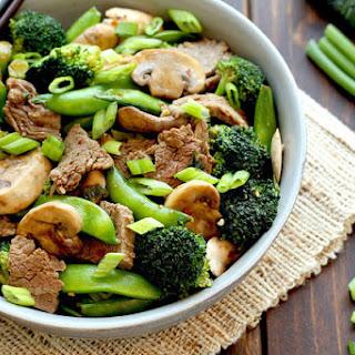 Chop-Chop Beef Stir-Fry.