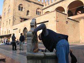 Photo: ... lebt aber schon ewig in Bologna, kennt jedes Wässerchen ...