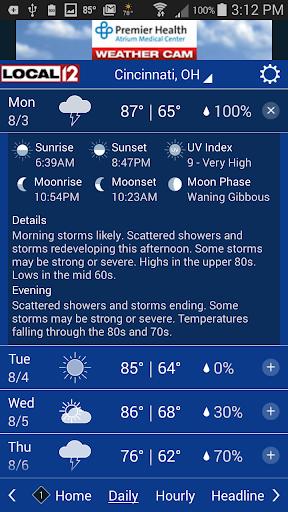 玩免費天氣APP|下載WKRC WX app不用錢|硬是要APP