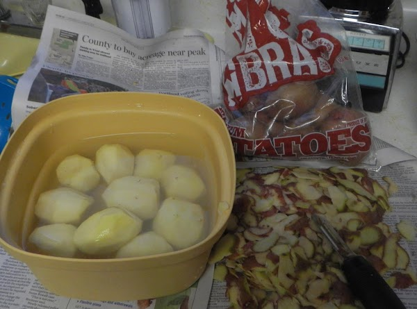 One of the veterans at the Post, is on dialysis. So the potatoes (...