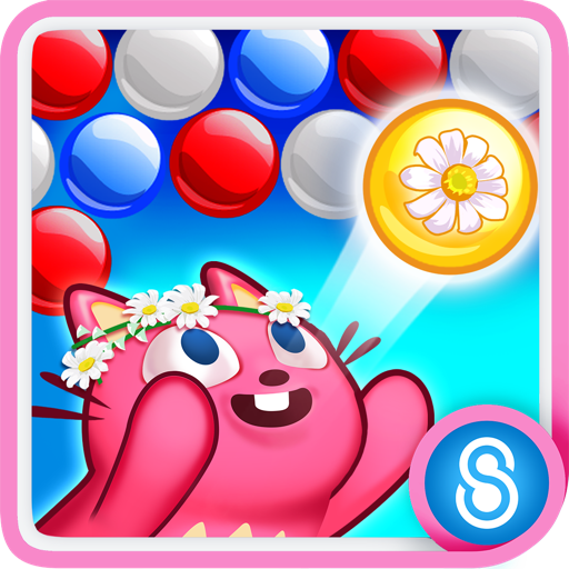 Bubble Mania Spring Flowers Icon