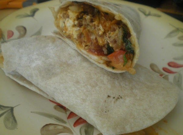 Roll up burrito style and enjoy!