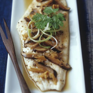 Healthy Chinese-style Plaice
