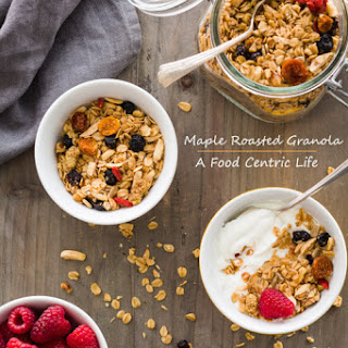 Roasted Maple Granola