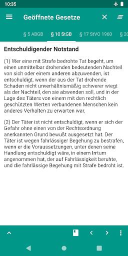 Lawdroid AT – Österreichische Gesetze und EU-Recht screenshot 3