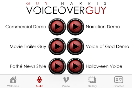 VoiceoverGuy The App- screenshot thumbnail