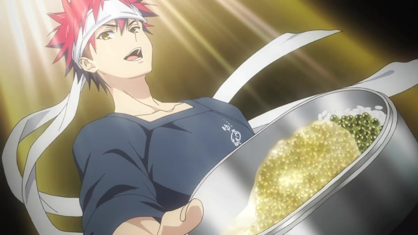 Watch Food Wars! The Second Plate live