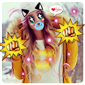 Cute Sticker Photo Effect icon