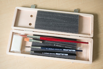 Photo: Da Vinci Series 5260 Watercolour Brush box set