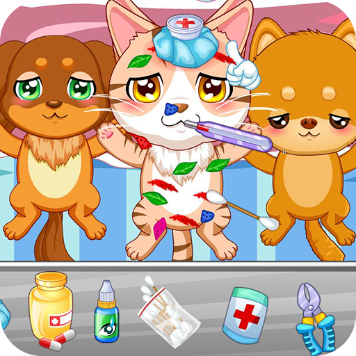 Pet hospital doctor Icon