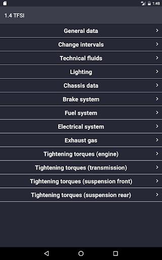 TechApp for AUDI screenshot 8